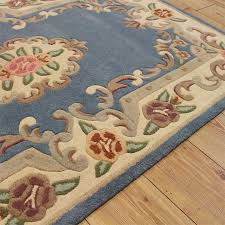 Chinese Aubusson Wool Rug