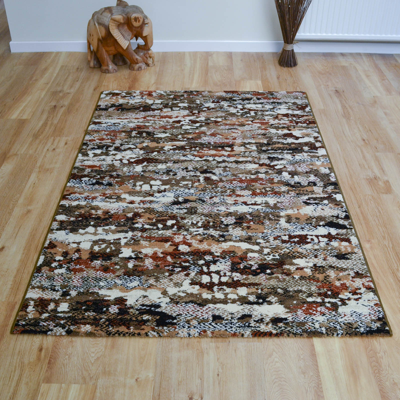 Woodstock Rug Brown Multi 32233/6233