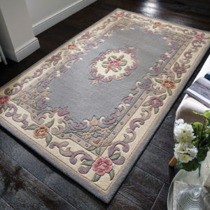 Aubusson Grey Rug