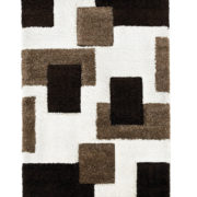 Ivory Brown Fashion Rug