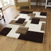 Fashion Ivory/Brown rug