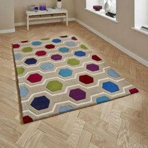 Hong Kong Multi Colour Rug