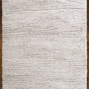Angora light grey shaggy rug