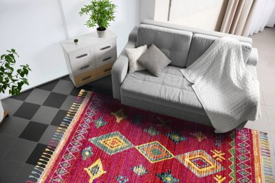 Royal Marrakech Rugs 2208 Red/Lilac