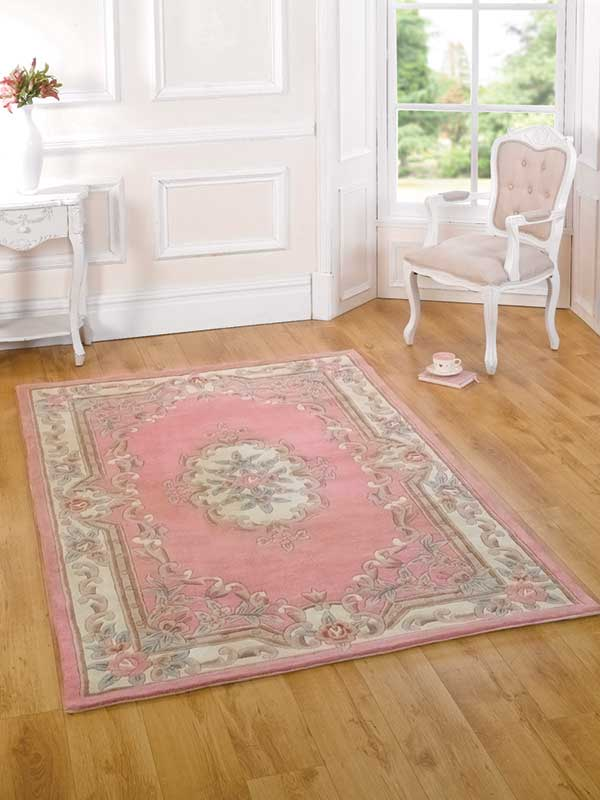 Chinese Aubusson Pink