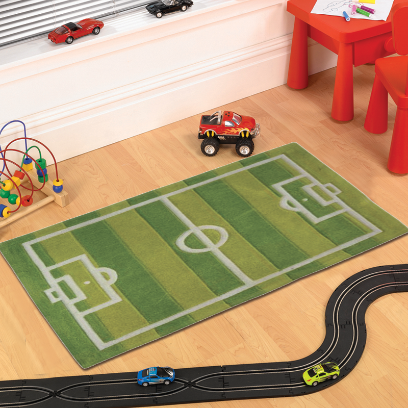 Football Pitch Rug