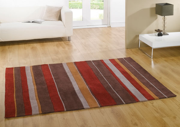 Boulevard Red /Bown Rug
