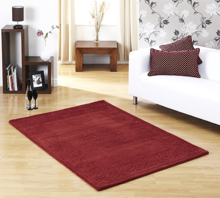 Regal Red Rug