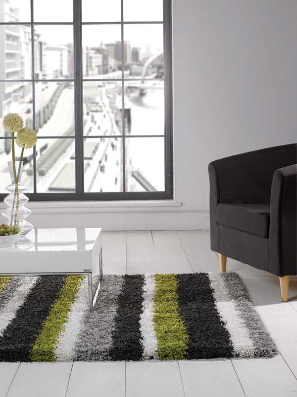 Nordic Channel Green/Steel Rug