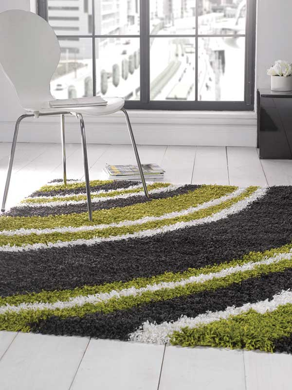 Nordic Crescent Lime/SteelRug