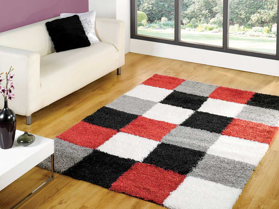 Nordic Andes Red/grey Rug