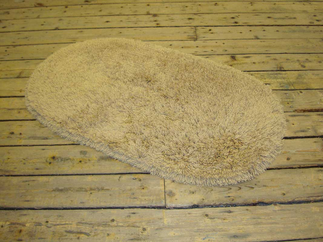 Machine Washable Rug Gold