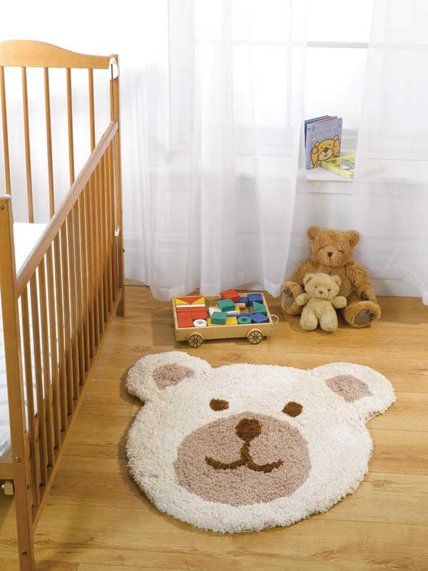 Nursery Teddy Bear Rug