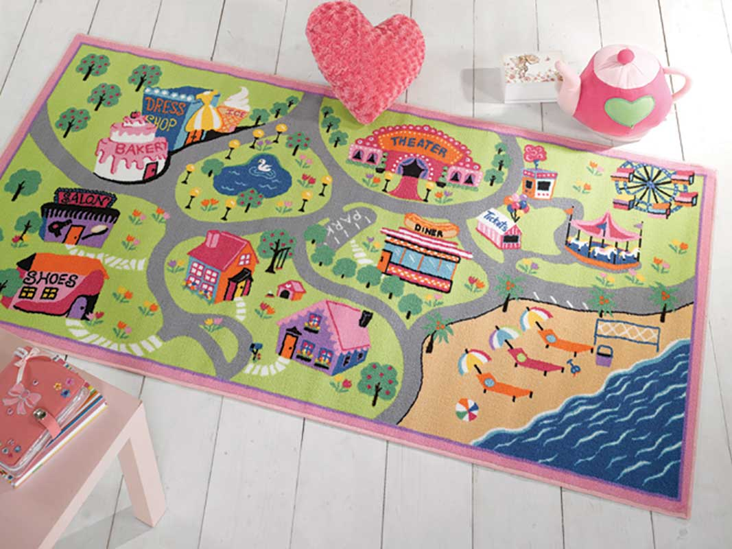 Matrix Girls World Rug