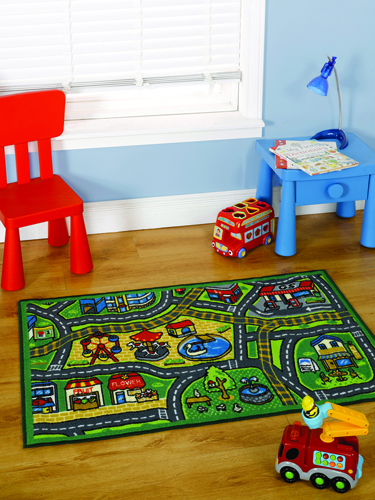Matrix Happy Town Rug