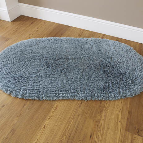 Machine Washable Rug Teal