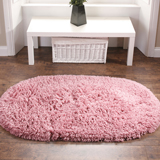 Machine Washable Rug Pink