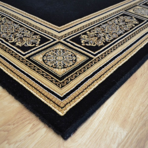 Da Vinci  Rugs 57801-3333 Black